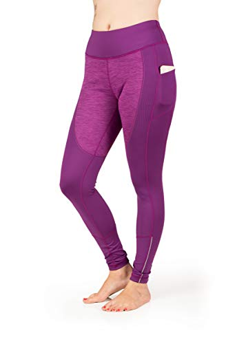 Skirt Sports Women's Toasty Tights, Small, Grape Frost