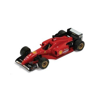 43rd Scale - Ferrari F310 #1 Michael Schumacher - Winner Grand Prix Barcelona 1996 - 1/43rd Scale IXO Model