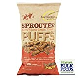 Unique Sprouted 100 Percent Whole Grain Pretzel Puffs, 8 Ounce - 12 per case.