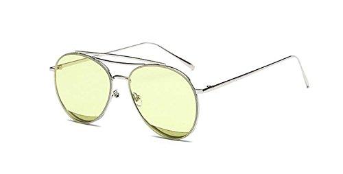 du rond polarisées Vert lunettes Lennon style vintage retro soleil Olive inspirées métallique cercle en de pqp7OIga