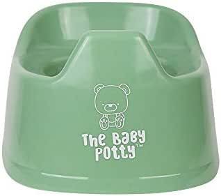Mini Potty for Early Potty Training | Elimination Communication | Portable and Lightweight Design | Promotes Full Potty Independence | EC Child Potty Training Toilet (Sage Green)