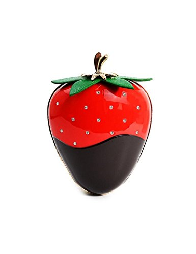 Osye Women Fashion Dinner Handbags - Strawberry Shaped Bags For Party