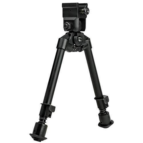NcStar Bipod with Weaver Quick Release Mount/ Universal Barrel Adapter Included (ABUQ)