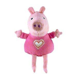 Peluches Peppa Pig 16cm Peppa Pig Peppa corazon rosa