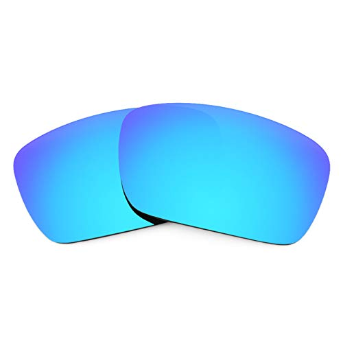 Revant Polarized Replacement Lenses for Oakley Fuel Cell Elite Ice Blue MirrorShield