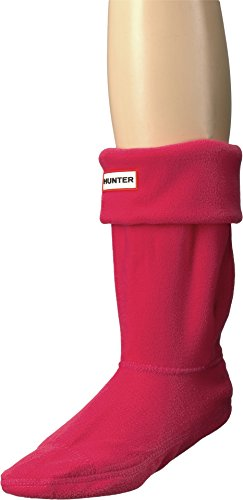 Hunter Unisex Short Boot Socks Bright Pink MD (Womens Shoe 5-7)