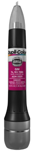 Dupli-Color AGM0509 Metallic Dark Cherry General Motors Exact-Match Scratch Fix All-in-1 Touch-Up Paint - 0.5 oz. (0.5 Cherry Point)