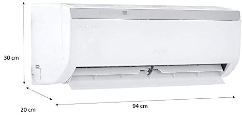 Voltas 1.5 Ton 3 Star Split AC (183EZA, White) 2021 July Split AC with low noise. Affordable compared to inverter split ACs Capacity: 1.5 ton. Suitable for medium sized rooms (111 to 150 sq ft) Energy Rating: 3 Star