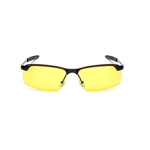 Hombre Sunglasses Black clásicas Box Gray Mujer Gafas Retro Gafas de Reflectantes Color Night Gun Black Gafas Vision y Sol de Mirror Frog Sol de Box xHq4YUHr