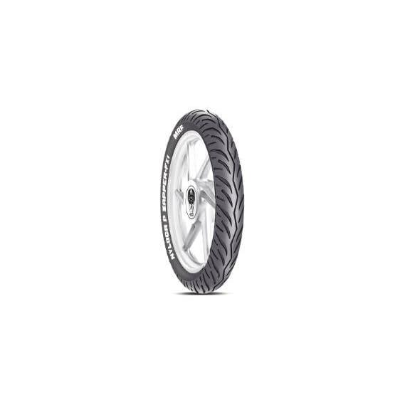 MRF Nylogrip Zapper FX1 20887960 100/80 R17 52P Tubeless Bike Tyre, Front