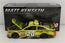 Liquid Color Edition Matt Kenseth 2014 Dollar General 1/24 Scale Diecast Hood Opens Trunk Opens HOTO Limited Edition Action Racing Collectables Only 168 Made ()