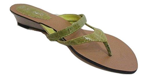 Sandal Petit Antidérapant Wedge Somoniki Vert Sur qB77O