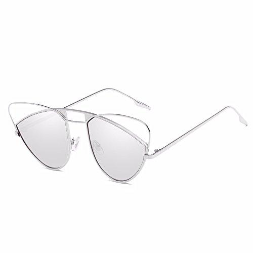 Gafas Gafas Mujer D Sol de de polarizadas de Intellectuality Personalidad Hombre Ojos Retro Sol C 1qdS1w