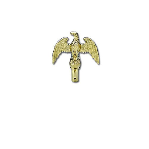Valley Forge Flag 7'' ABS Gold Eagle ACC1000 by Valley Forge