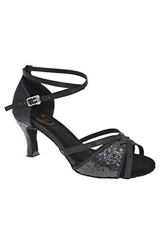Salon De Danse Fiona Rotate Noir Chaussures 7OqztTxwzA
