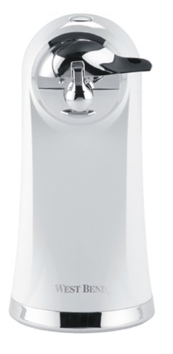 West Bend 77205 Electric Can Opener, White (Discontinued by Manufacturer) by West Bend