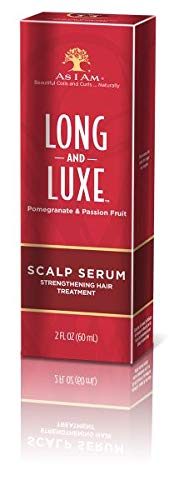 - AS I Am Long and Luxe Scalp Serum Strengthening Hair Treatment, 2 Ounce