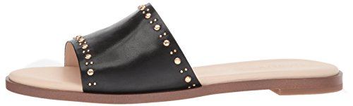 Cole Haan Women's Anica Stud Slide Sandal, Black Leather, 10 B US by Cole Haan (Image #5)