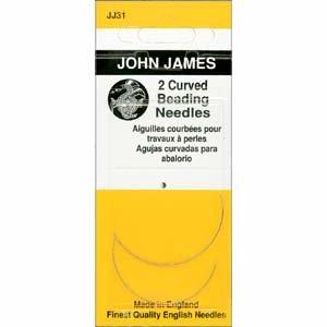 John James Needles - Curved English Beading Needles