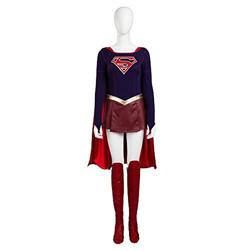 cossmile Movie The Flash Women Supergirl Cosplay Halloween Costume Suit]()