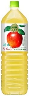 【送料別】キリン 小岩井 純水りんご 1.5LP×8本入