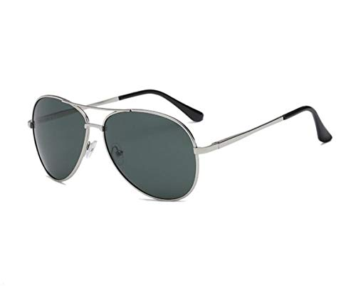 de moda gafas polarizadas de FlowerKui sol conducción al gafas Silver gafas pesca de de Hombres libre UV400 sol protección aire de nXgFgfq
