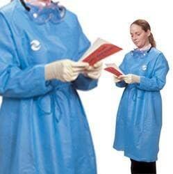 Covidien ct5000 Kendall resistente a las salpicaduras – Albornoz, medio, color azul (Pack de 30): Amazon.es: Amazon.es