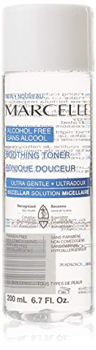 Marcelle Alcohol-Free Soothing Toner, Hypoallergenic and Fragrance-Free, 6.7 fl oz