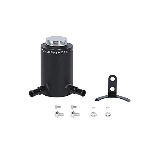 Mishimoto MMRT-PSAWBK Wrinkle Black Aluminum Power Steering Reservoir (Aluminum Power Steering Tank)