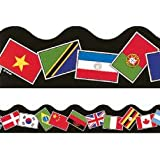 12m x World Flags Classroom Borders / Trimmers