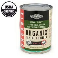 DOrganic, 95% organic, Trky& Veg Frml, Can, 12.7 oz ( Value Bulk Multi-pack)