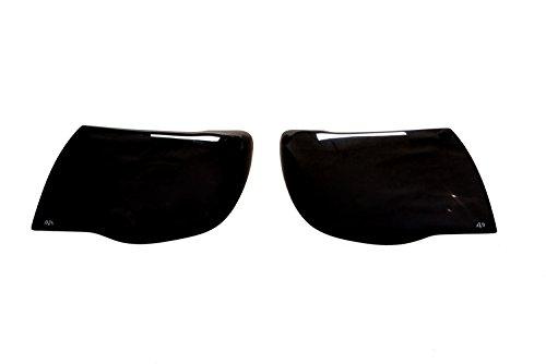 (Auto Ventshade 37534 Dark Smoke Headlight Covers for 2005-2011 Toyota)