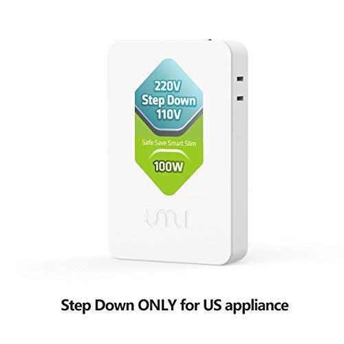 UMI 220V to 110V Step Down Smart Travel Transformer