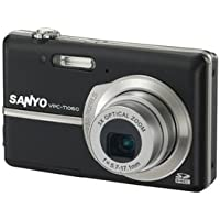 Sanyo Xacti VPC-T1060 10MP Digital Camera w/ 3x Optical Zoom 2.8 LCD - Black