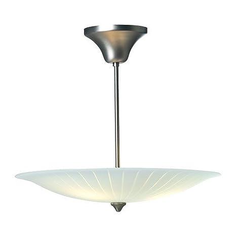 Ikea ornäs - Lámpara de Techo con Pantalla de Cristal ...