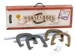St. Pierre AMERICAN PRESIDENTIAL HORSESHOE SET IN WOOD CASE by St. Pierre