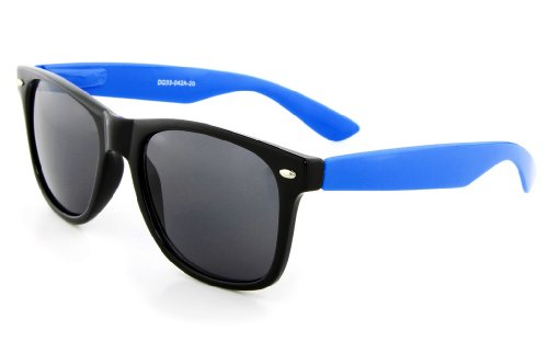 MJ Boutique's Black & Blue Sunglasses Dark - Latest Rayban