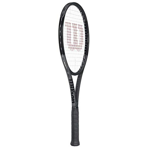 Wilson Pro Staff RF 97 Black Federer Autograph Tennis Racquet – Quality String
