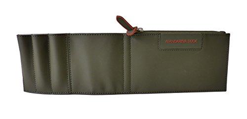 Mandarina Duck Reiseportemonnaie Organiser Tablethalter P2PVM0501Z Pouch Military Wallet Geldbörse Khaki (32x9x1cm)