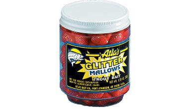 Atlas Mike's Glitter Mallows, Pink/Shrimp ()