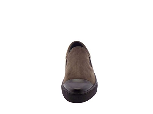 FRAU 39B0 nero scarpe con elastico donna camoscio interno caldo (40)