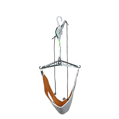 JKABNSDF Cervical Vertebra Tractor Hanging Cervical Traction Apparatus Household Neck Lumbar Traction Frame Stretching Treatment
