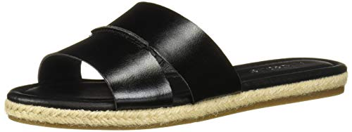 (Aerosoles Women's Back Drop Flat Sandal Black 9 M US)
