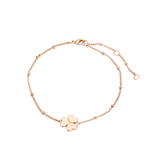 iLeader ZYH142 Clover Gold Plated Bracelet Jewelry Austrian Crystals Wholesale