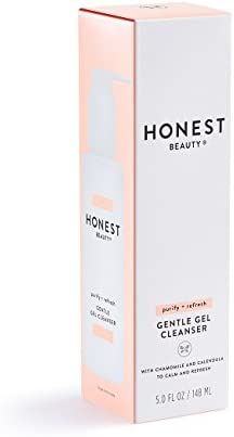 Honest Beauty Gentle Gel Cleanser with Chamomile & Calendula Extracts | Sulfate Free, Paraben Free | 5.0 fl. oz.