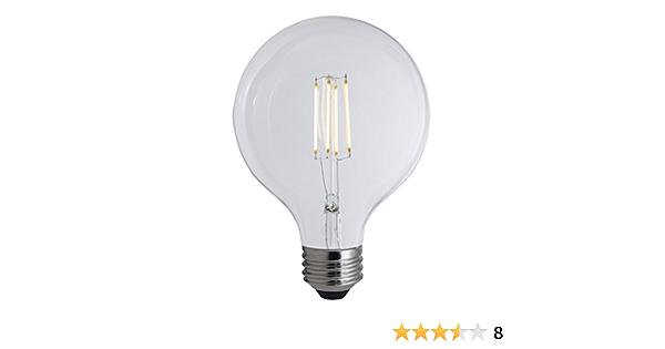 Bulbrite Led G40 Dimmable Medium Screw Base E26 Light Bulb 75 Watt Equivalent 2700k Clear Amazon Com