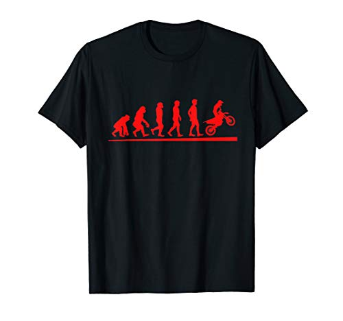 Motocross Evolution Dirt Bike T-Shirt | Motorcycle Shirt