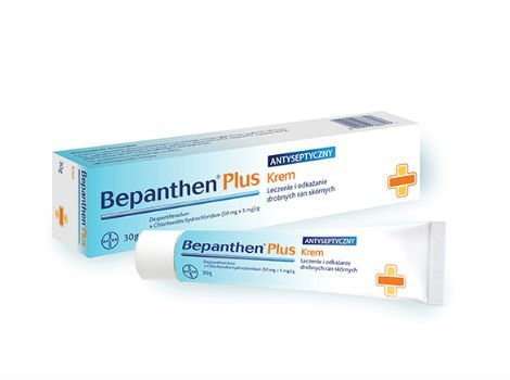 Bepanthen First Aid Antiseptic Cream ( 30 G / 1 Oz ) Healing Wounds Fight Infection, Soothes and Moisturises Ship with Tracking Number by Bepanthen (Image #1)