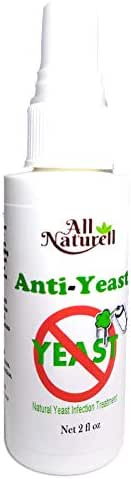 Natural Yeast Infection Treatment for Men & Women Helps Naturally Kill Yeast, Candida or Fungus with Fast Instant Relief