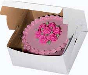 Golda's Kitchen Cake Box - 10 × 10 × 5 - 10 pack